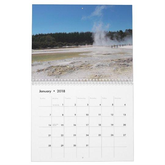 Photos of New Zealand Calendar