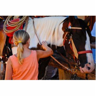 Photosculpture de caballo fotoescultura vertical