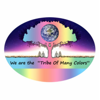 "Photosculpture ~ ""Tribe OF Many Colors """