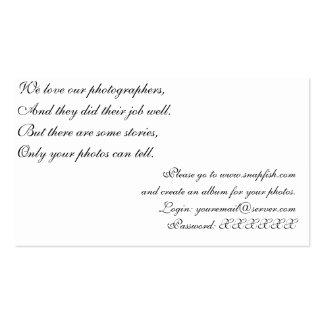 Photosharing Card Business Card