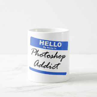 """Photoshop Addict"" Design Mug"