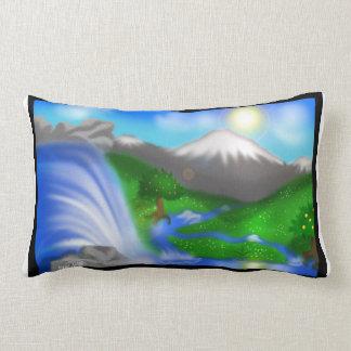 Photoshop Background 6 Lumbar Pillow