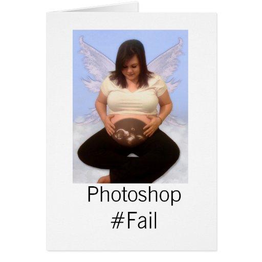 Photoshop Fail Greeting Card