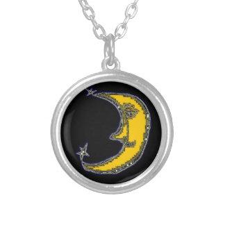 PhotoShop Moon Necklace
