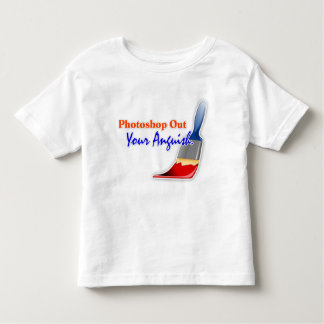 """Photoshop Out Your Anguish"" Toddler T-Shirt"
