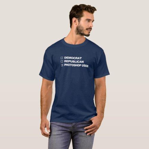 Photoshop User T_Shirt