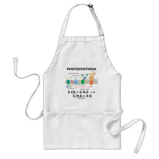Photosynthesis (Carbon Dioxide + Water) Adult Apron