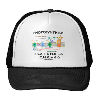 Photosynthesis (Carbon Dioxide + Water) Trucker Hat