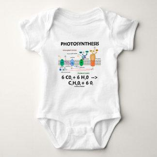 Photosynthesis (Chemical) Formula Baby Bodysuit