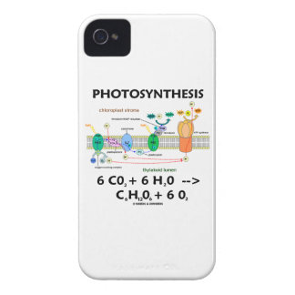 Photosynthesis (Chemical Formula) iPhone 4 Cases