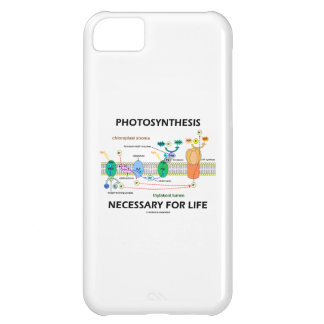 Photosynthesis Necessary For Life Light-Dependent Cover For iPhone 5C