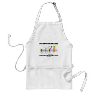 Photosynthesis The Original Green Energy Source Adult Apron