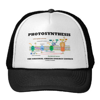 Photosynthesis The Original Green Energy Source Trucker Hat