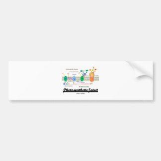 Photosynthetic Spirit (Biochemistry Attitude) Car Bumper Sticker