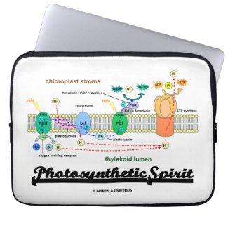 Photosynthetic Spirit (Biochemistry Attitude) Laptop Computer Sleeves