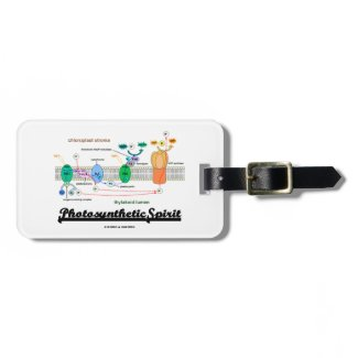 Photosynthetic Spirit (Biochemistry Attitude) Tags For Bags