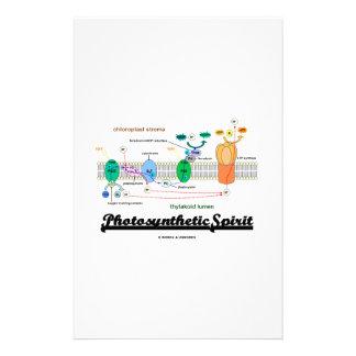 Photosynthetic Spirit (Biochemistry Attitude) Stationery