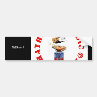 PhotoText Sticker Bumper Stickers