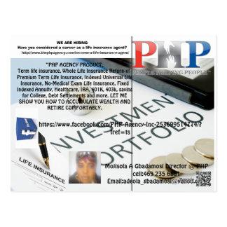 PHP AGENCY POSTCARD BY MOJISOLA A GBADAMOSI