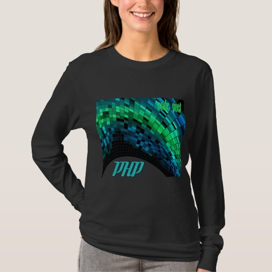 PHP- Blue Green Dome T-Shirt
