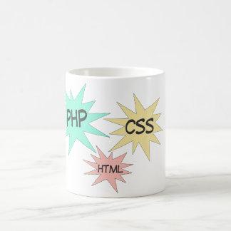 PHP CSS HTML COFFEE MUG