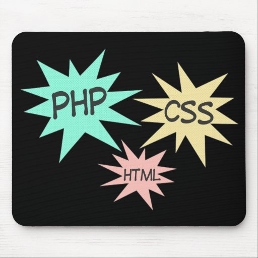 PHP CSS HTML MOUSE PADS