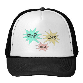 PHP CSS HTML TRUCKER HAT
