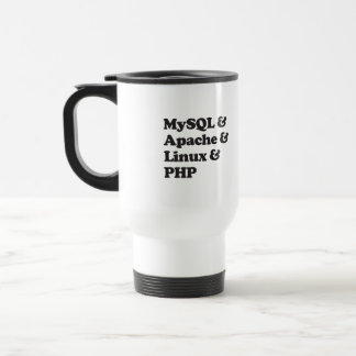 PHP de Mysql Apache Linux Tazas De Café
