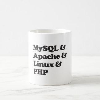PHP de Mysql Apache Linux Taza Clásica