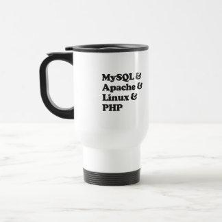 PHP de Mysql Apache Linux Taza Térmica
