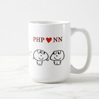 """PHP heart NN"" Coffee Mug"