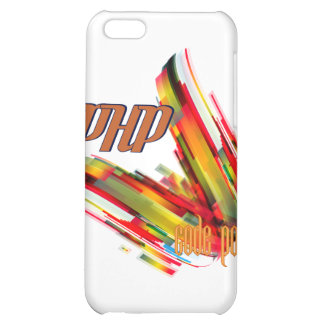 PHP- Multicolor Code Swirl iPhone 5C Cover