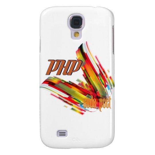 PHP- Multicolor Code Swirl Samsung S4 Case