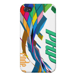 PHP- Multicolor Double Arch iPhone 4 Covers