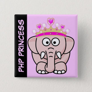 PHP Princess: Women in Open Source Web Development Button