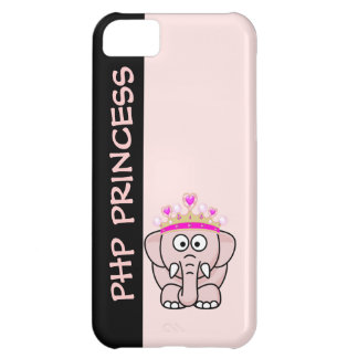 PHP Princess: Women in Open Source Web Development iPhone 5C Cover