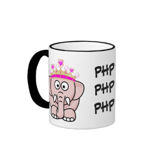 PHP Princess: Women in Open Source Web Development Ringer Mug