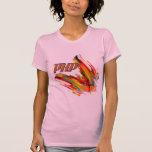 PHP remolino multicolor del código Camisetas