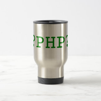 PHP Tags 15 Oz Stainless Steel Travel Mug