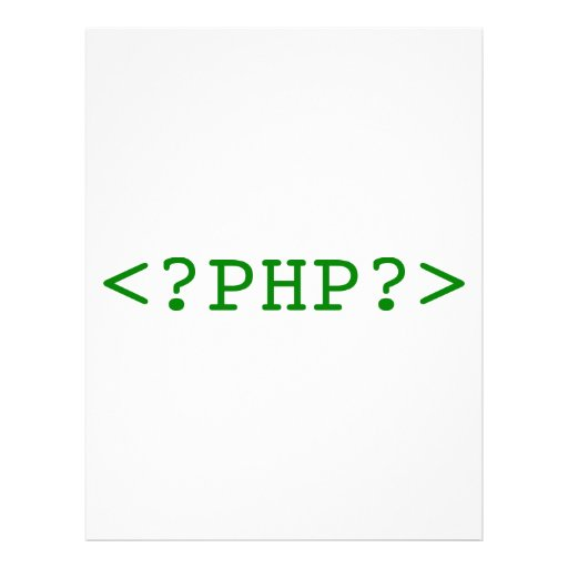 PHP Tags Letterhead