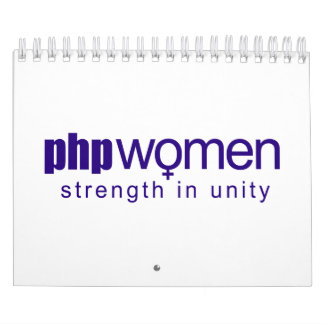 PHP Women 2010 (small) Wall Calendars