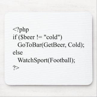 PHP y cerveza Alfombrillas De Raton