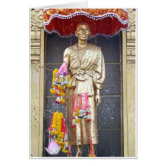 Phra Kru Ba Sriwichai Monument Card