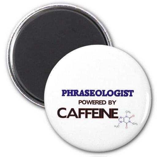 Phraseologist accionó por el cafeína imán de frigorifico