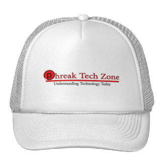 Phreak Tech Zone Logo Hat