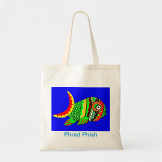 Phred Phish Tote Bag