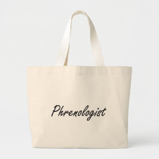 Phrenologist Artistic Job Design Jumbo Tote Bag