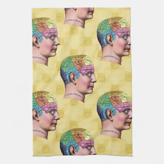 Phrenology American MoJo Kitchen Towels