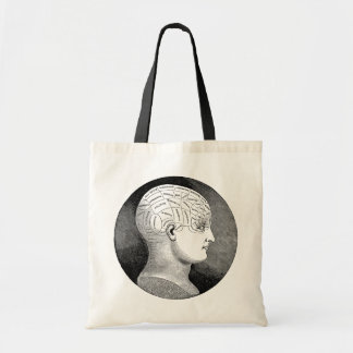 Phrenology Canvas Bag
