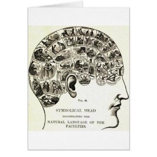 Phrenology Card
